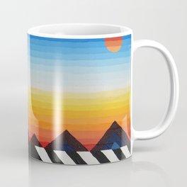 Geometric Coyote Coffee Mug