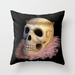 Heavy Is The Head Throw Pillow