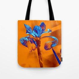Glowing Iris... Tote Bag