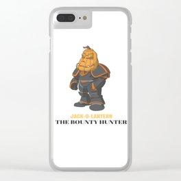 JACK-O-LANTERN The Bounty Hunter Clear iPhone Case