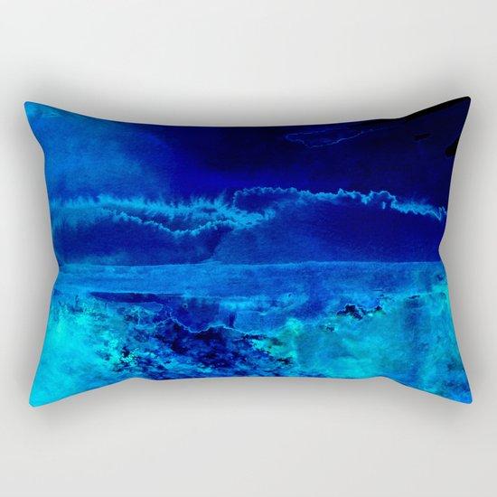 Icy Storm Rectangular Pillow