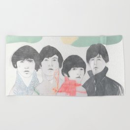 Strawberry fields forever! Beach Towel