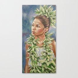 Tiare Canvas Print