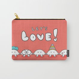 Let's Love! Carry-All Pouch