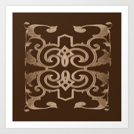 J'aime le chocolat, I love chocolate Art Print