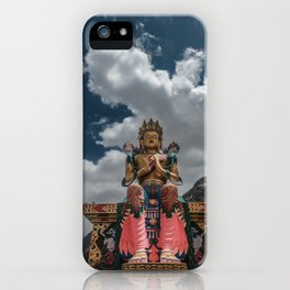 Monastery in Ladakh iPhone Case