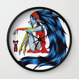 Voodoo Elf Wall Clock