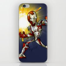 IRON MAN mark 42 iPhone & iPod Skin