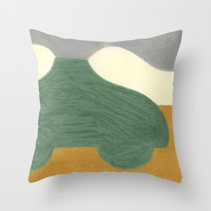 The Onion Soup Car Throw Pillow