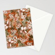 Tropical Orange Stationery Cards
