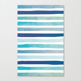 Seaside Stripes Canvas Print