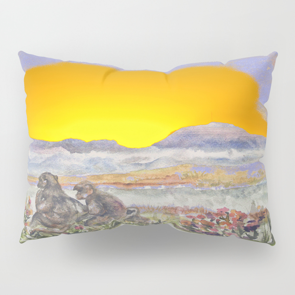 African Sun Family Pillow Sham by Crismanart PSH8965208