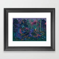 Power Pint Framed Art Print