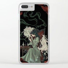 Tragically Ever After: Mina Clear iPhone Case