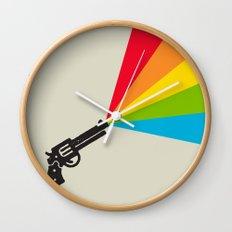 Colour Explosion Wall Clock