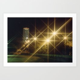 Tallahassee Lights Art Print