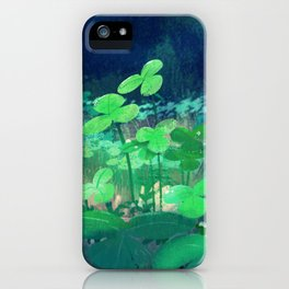 clovers iPhone Case