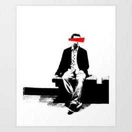 True Identity Art Print