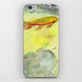 Small Koi Pond 24 iPhone Skin