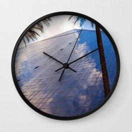 Las Vegas Luxor Pyramid Reflections Wall Clock