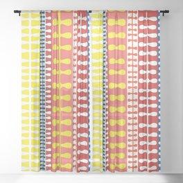 Orla Keily inspired Mid-century design Sheer Curtain