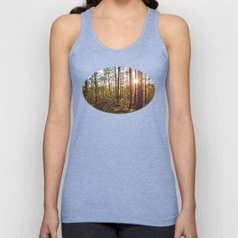 Evening in the forest Unisex Tank Top