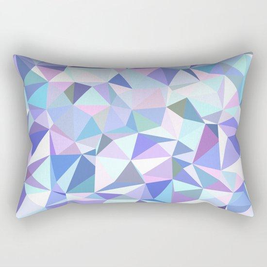 Light purple geometry Rectangular Pillow