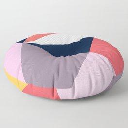 Modern Poetic Geometry Floor Pillow
