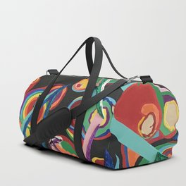 Colorful Abstract Fruit Duffle Bag