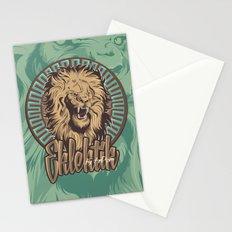 Lion print Stationery Cards