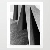 shapes and shades Art Print
