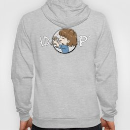 Adopt - Girl With Puppy Art Hoody