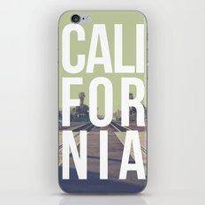 California on the Tracks Again iPhone Skin