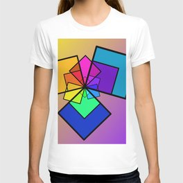 colorful home -1- T-shirt