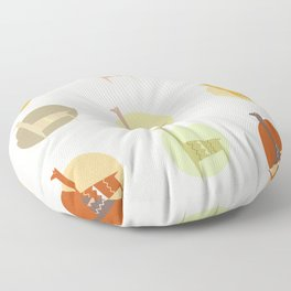 Animal abstract / South America Floor Pillow