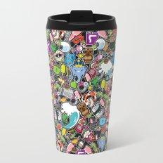 Sticker Bomb Travel Mug