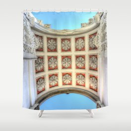 Dolmabahce Palace Istanbul Arch Shower Curtain