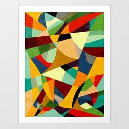 Entrelinhas - Colores Art Print