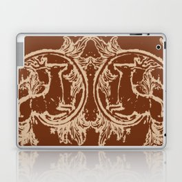 Chocolate Asheville Stags a Leaping Laptop & iPad Skin