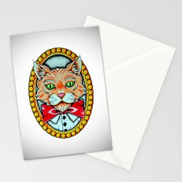 Mr Kitty  Stationery Cards