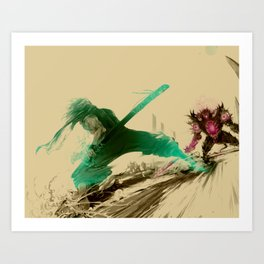Ninja V Art Print