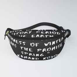 17  Keep Going Quotes 190512 Fanny Pack