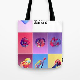 Crystallographic defects in diamond Tote Bag