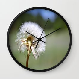 Don't Blow Away Wall Clock