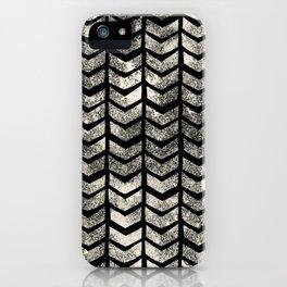Ink Brush Chevron iPhone Case