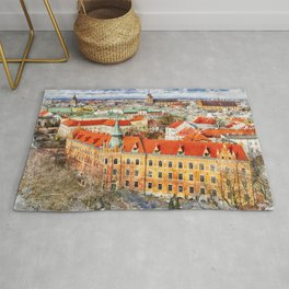 Cracow art 14 #cracow #krakow #city Rug