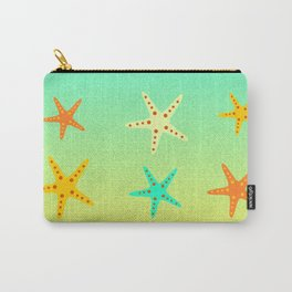 Sand, ocean and sea stars Carry-All Pouch