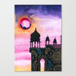 Rajasthan Sunset Canvas Print