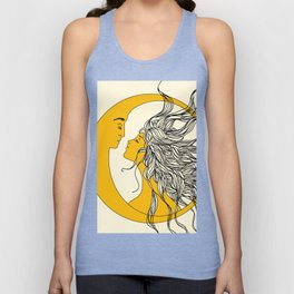 Sun and Moon Unisex Tanktop
