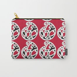 MAD HUE AOTEAROA Red Carry-All Pouch